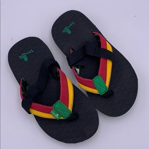 Kids Sanuk Flip flips Size 11-12